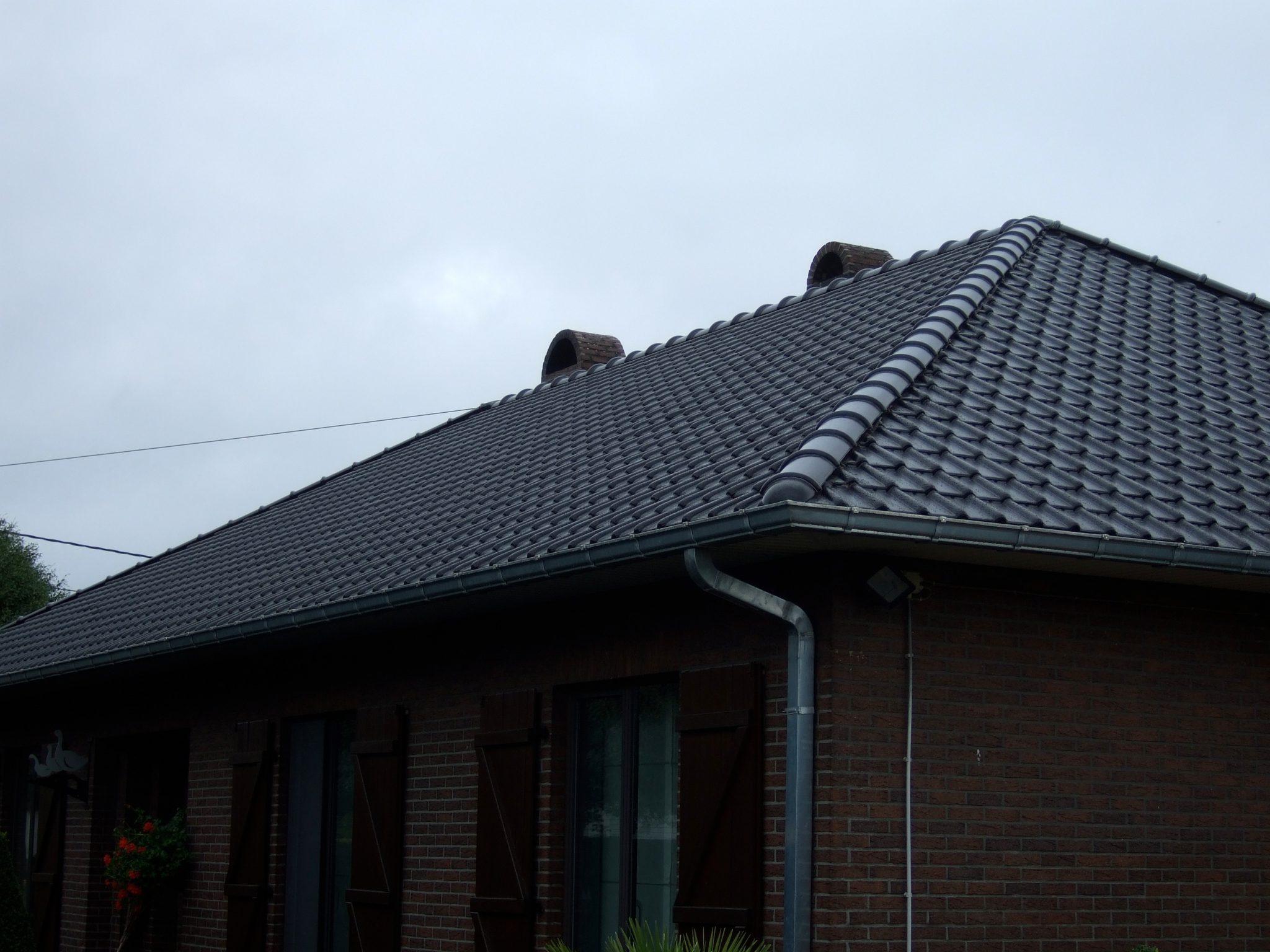gerenoveerd dak wellen