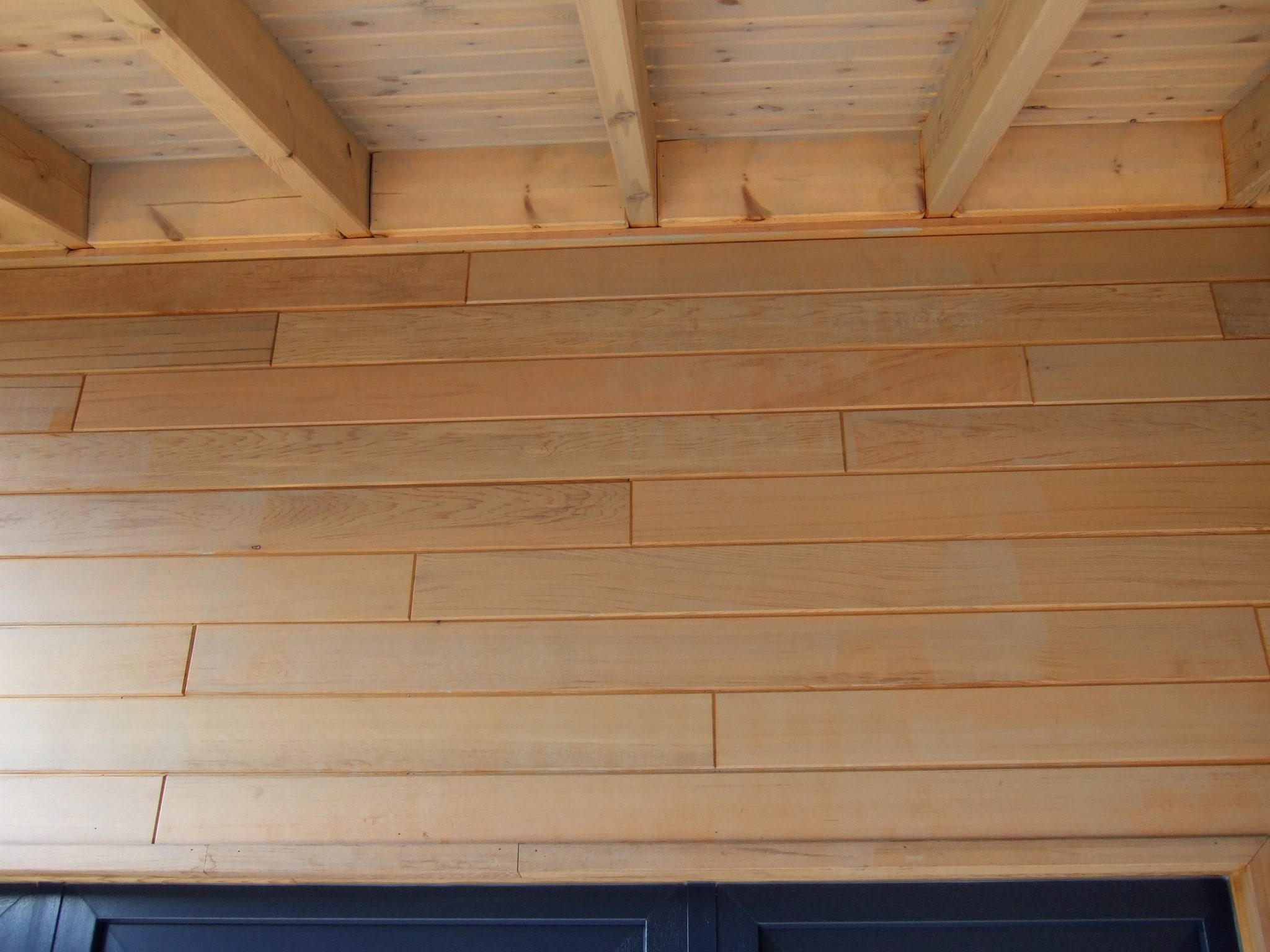 binnenzijde - gerenoveerd dak