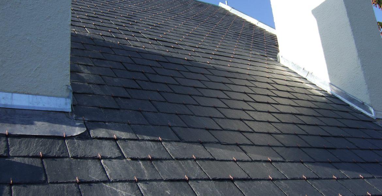 gerenoveerd dak- dakpannen